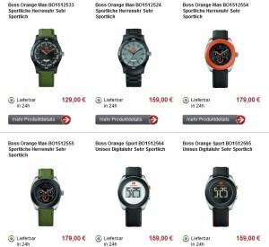 Boss Orange Armbanduhren