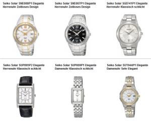 Seiko Armbanduhren