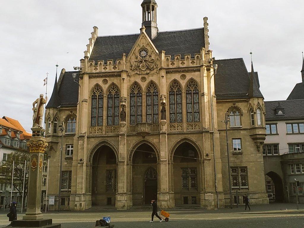 Rathausgebäude Altstadt Erfurt