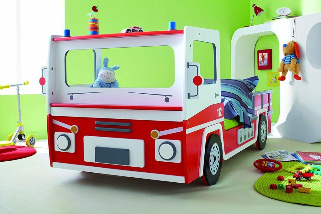 Kinderbett Feuerwehr Autobetten