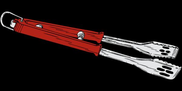Lange Grillzange ergonomisch Grillzubehör-Set