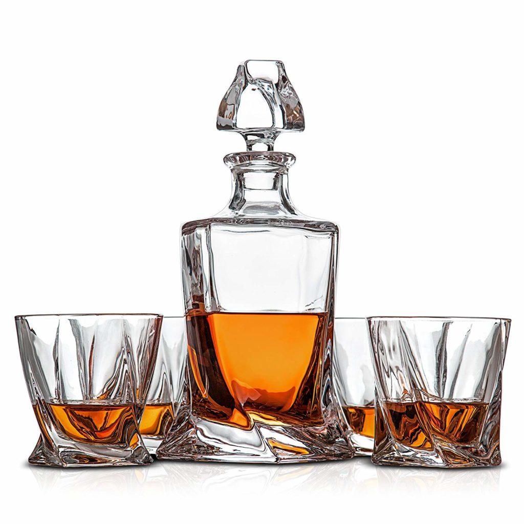 Tasman Twist Van Daemon Whiskygläser Karaffe