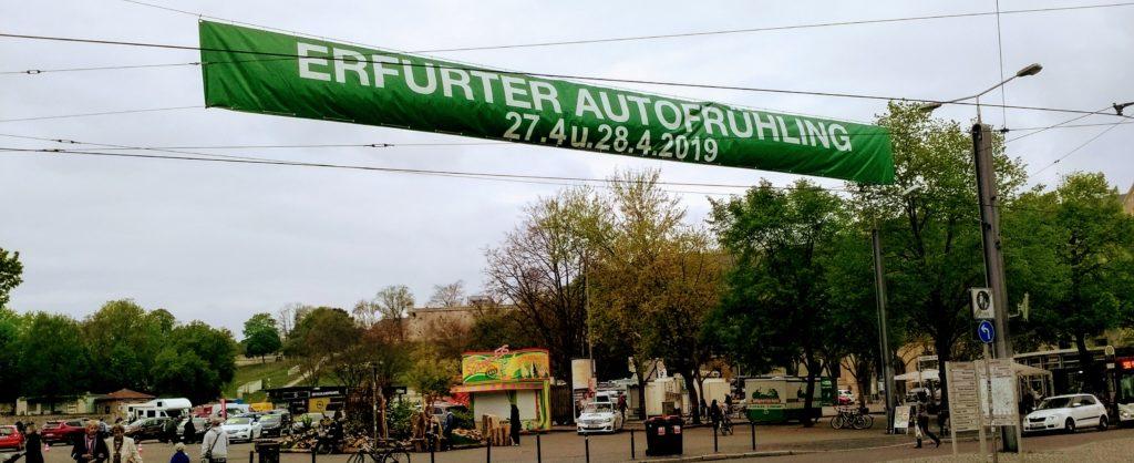 Autofest Erfurt 2019 Erfurter Autofrühling 2019