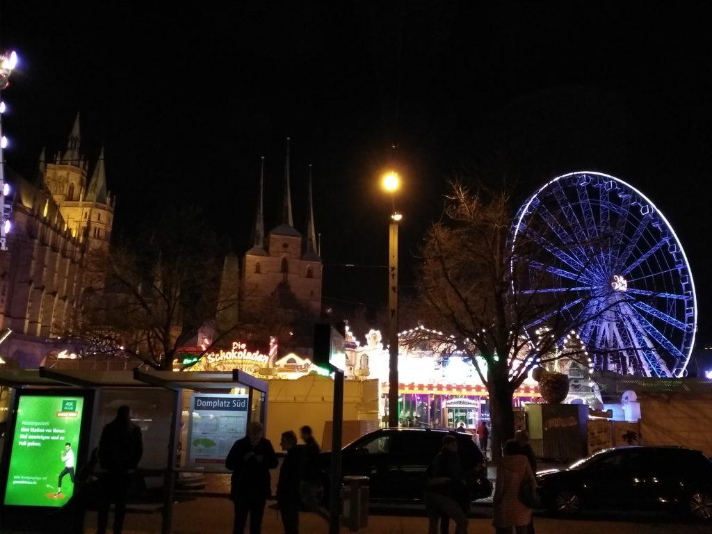 Erfurter Dom Severikirche Riesenrad - Altstadtfrühling Bilder Bild – Frühlingsfest Erfurt Bildergalerie