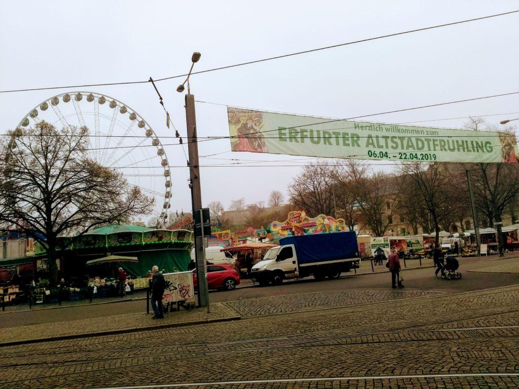 Frühlingsfest Erfurt 2019 – Erfurter Altstadtfrühling im April