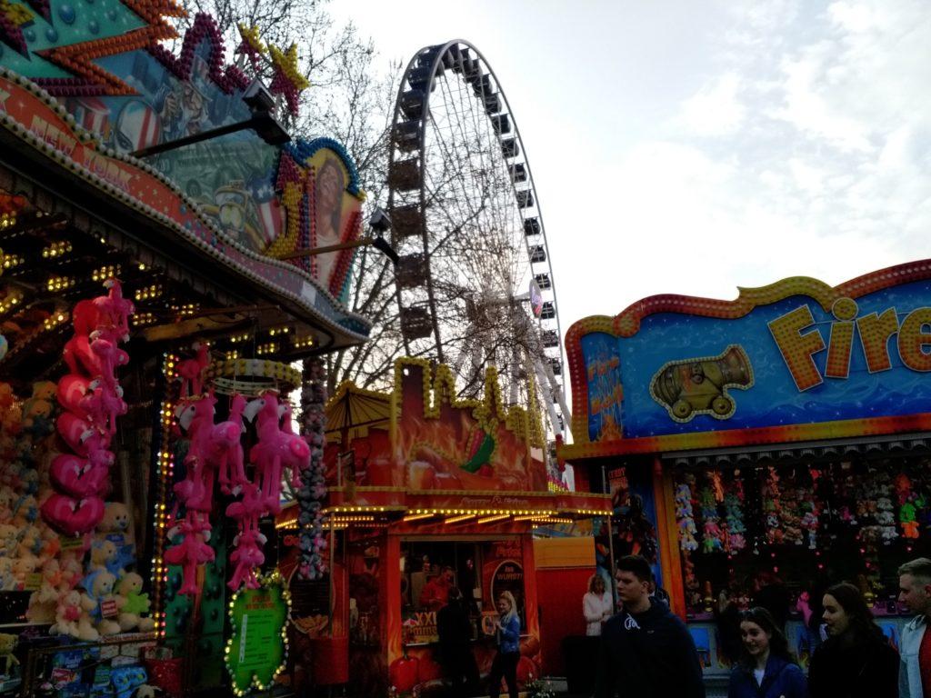 Riesenrad Losbude Erfurter Altstadtfrühling
