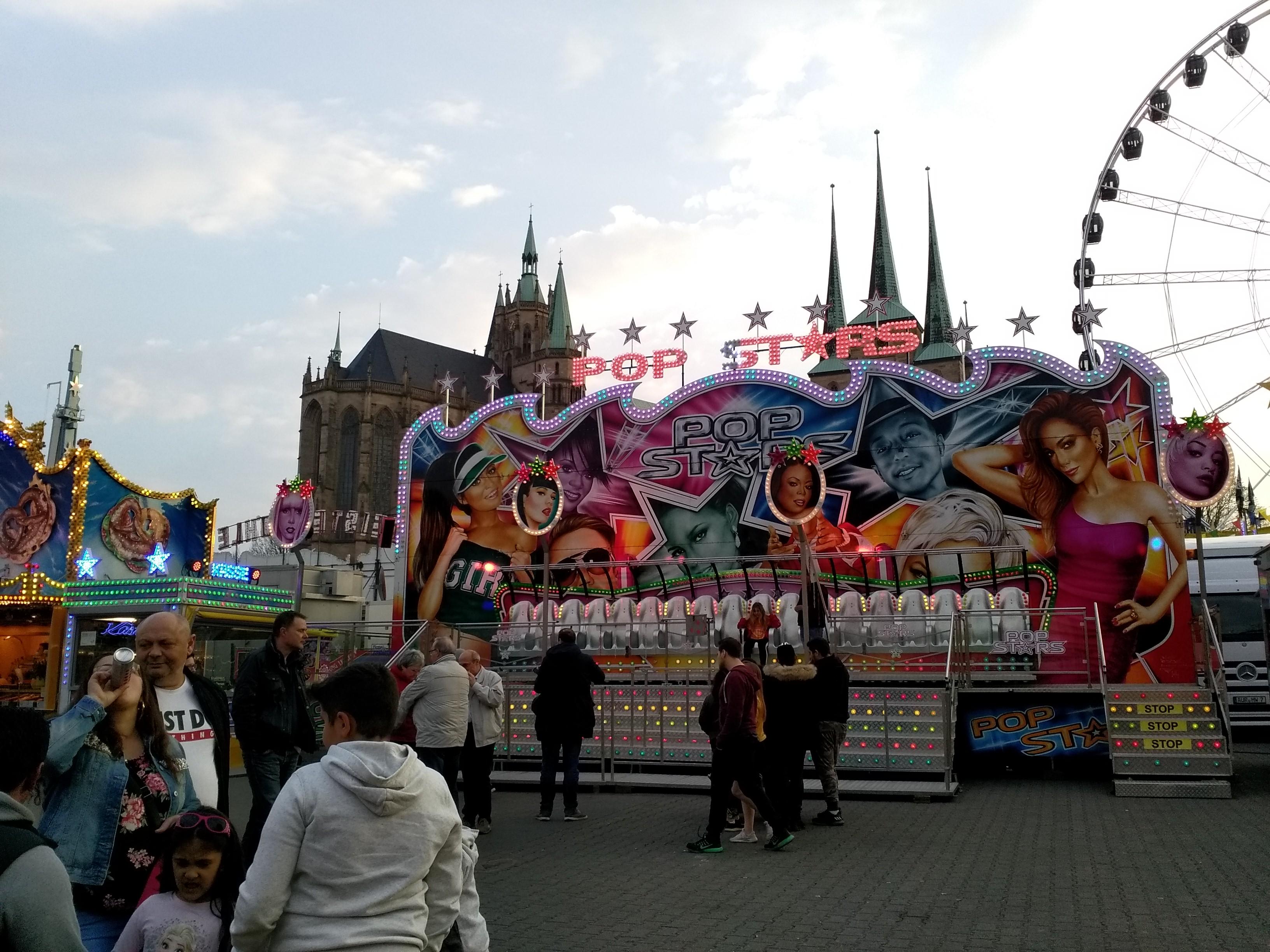 Erfurter Domplatz 2019