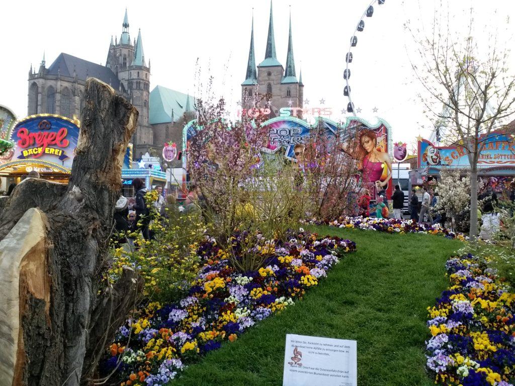 Ostersonntag und Ostermontag auf dem Erfurter Altstadtfrühling