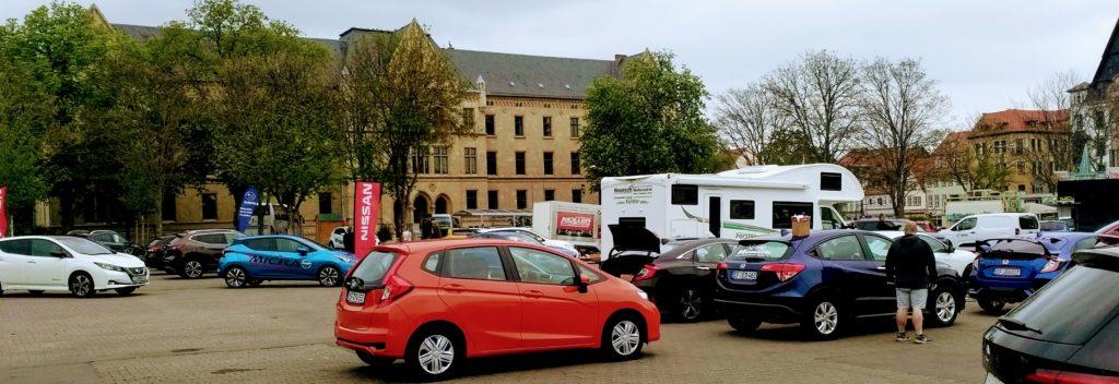 Kia Honda Neuwagen Autohaus Heunsch GmbH Erfurter Autofrühling 27. 28. April 2019