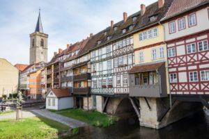 Erfurter Töpfermarkt Krämerbrücke