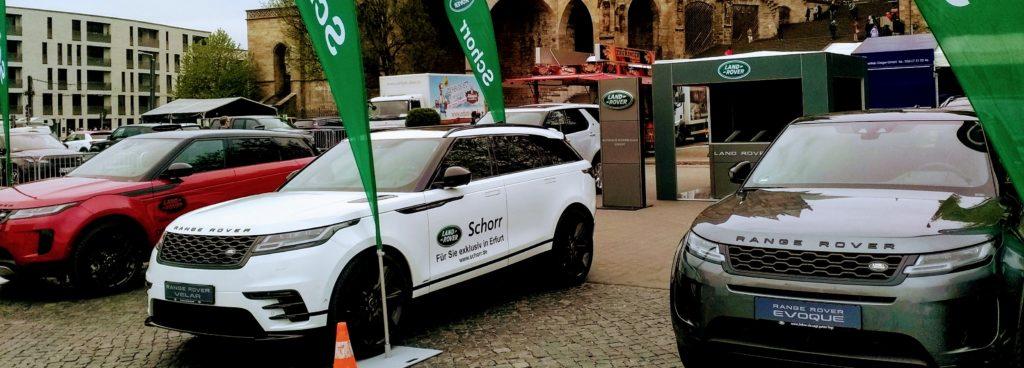 Land Rover Autohaus Schorr Autofest Erfurt 2019