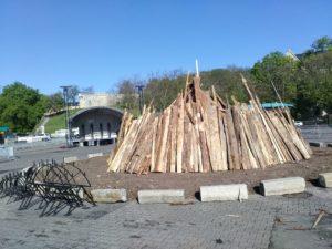 Walpurgisnacht 30.04 2019 Holz Maifeuer Petersberg Erster Mai Maifest Maiparty