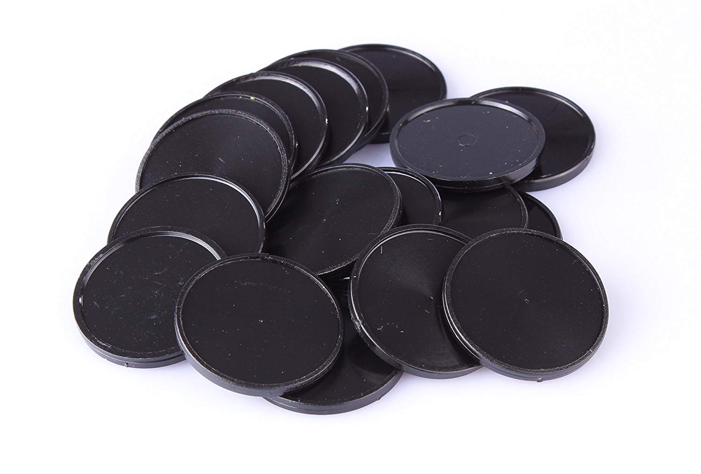 Einkaufswagenchips Kunststoff schwarz