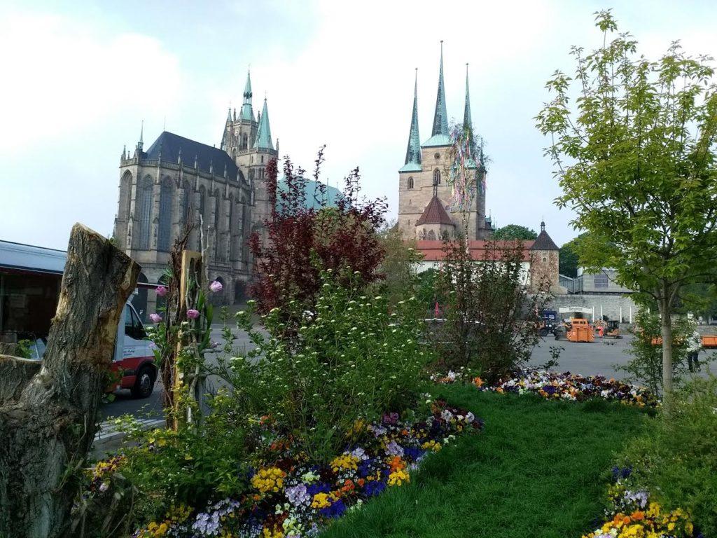 Erfurter Blumenmarkt Gartenmarkt Erfurt