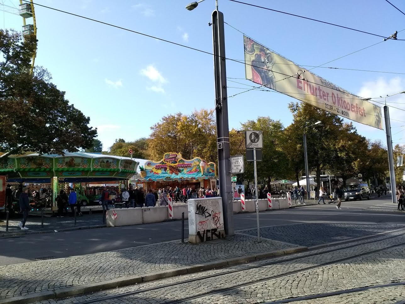 Oktoberfest in Erfurt 2019, Erfurter Oktoberfest 2019