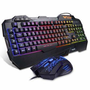 HAVIT Gaming Tastatur und Maus Set