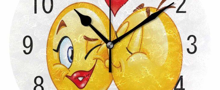 Günstige Emoji Uhr