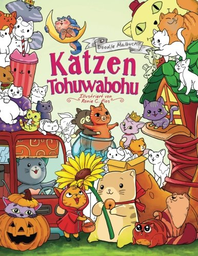 Malbuch Katzen Tohuwabohu