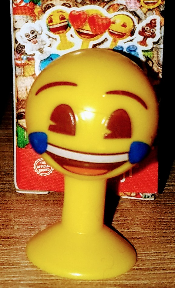 Aldi Emoji Lollo Smiley mit Lachtränen