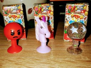 Aldi Emojis Fabsy, Bling Bling und Supa-Mad