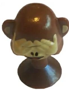 Aldi Emoji Mr. Hide Affe als Smiley