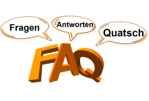FAQ, Fragen, Antworten, Quatsch, Häufige Fragen