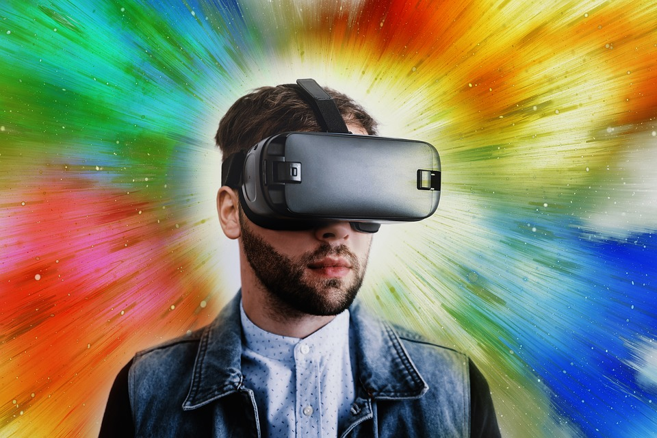 Gaming Tapete kaufen, Virtual Reality Brille Online bestellen, Gamer, Zocker, Zocken, Spielen, Videoschnitt, 4K, 8K