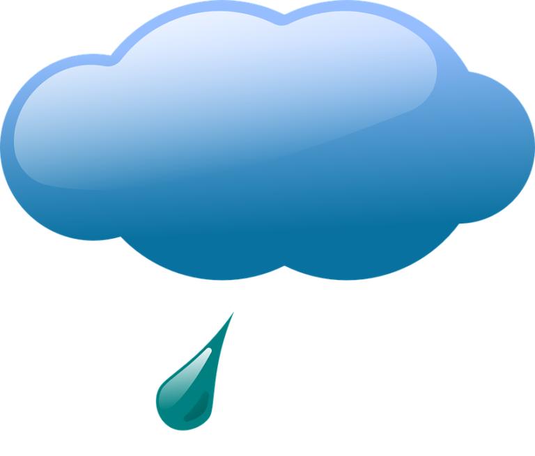 Leichter Regen in Erfurt - Erfurter Wetter Oktober 2019