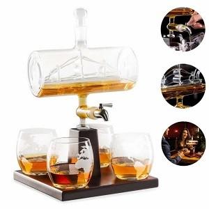 Weißwein-Dekanter Whiskykaraffe