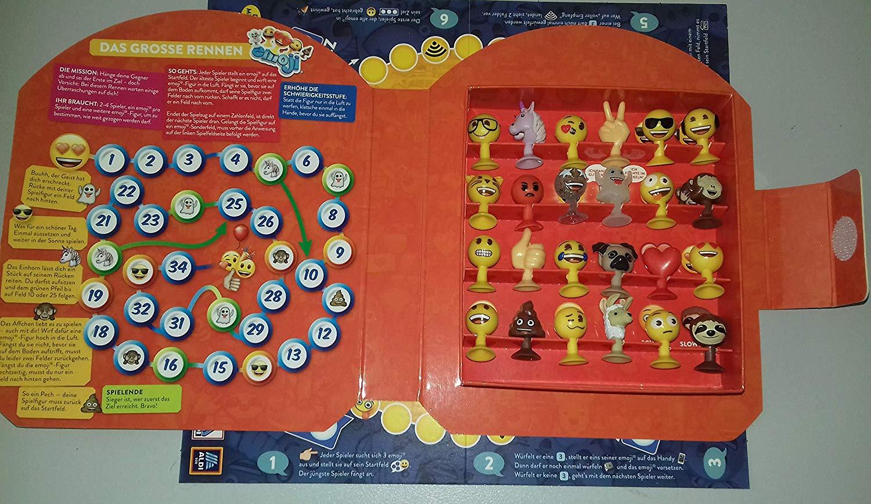 Emoji Aldi Emojis Smiley Smileys Komplettsatz 24 Figuren Album Spielmatte
