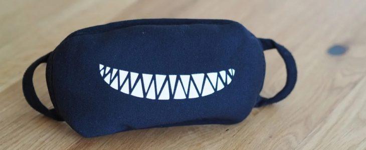 Smiley-Mundschutz kaufen! | Witzige Atemschutz-Maske mit Smiley Online bestellen!