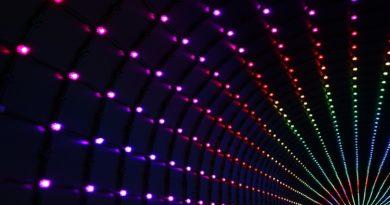 Mundschutz mit LED – in tollen Farben | Coole Mundschutze mit LEDs auch mit Farbwechsler!
