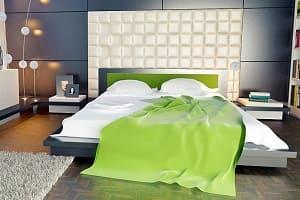 Doppelbett, Bett
