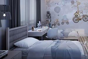 Kinderbett, Bett